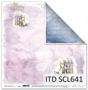 Бумага для скрапбукинга SCL641