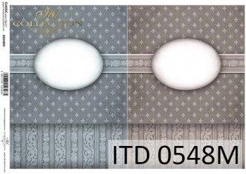 бумага для декупажа классическая D0548M