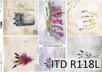 рисовая бумага для декупажа R0118L