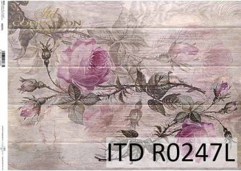 рисовая бумага для декупажа R0247L