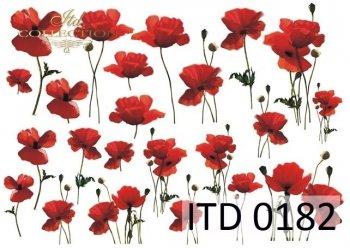 бумага для декупажа классическая D0182