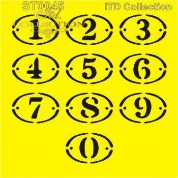 .шаблон для скрапбукинга 16x16 cм ST0045A