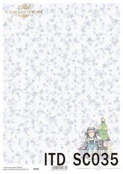 бумага для скрапбукинга SC0035