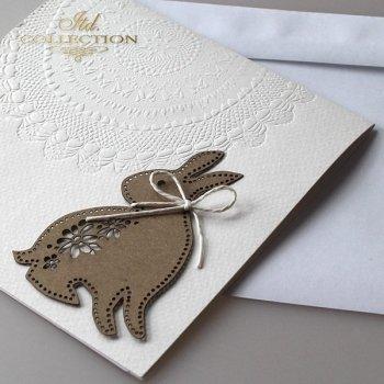 Пасхальная открытка с конвертом KW198
