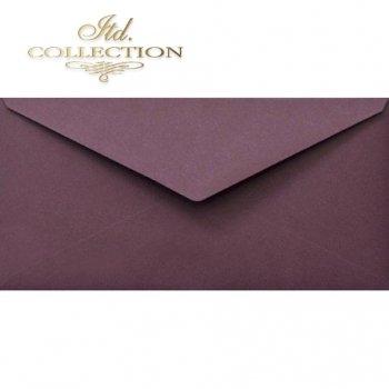 Конверт KP06.11 110x220 фиолетовый