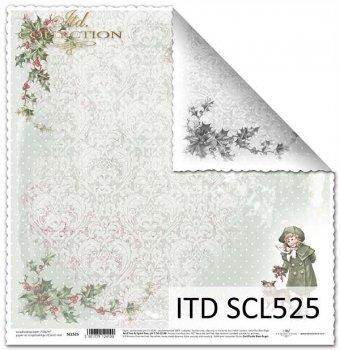 Бумага для скрапбукинга SCL525