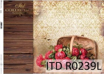 рисовая бумага для декупажа R0239L