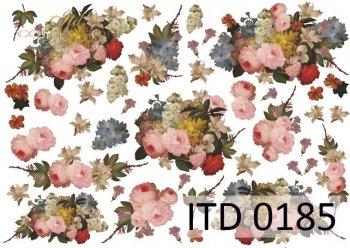 Papier decoupage ITD D0185M