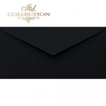 Конверт KP06.14 110x220 черный