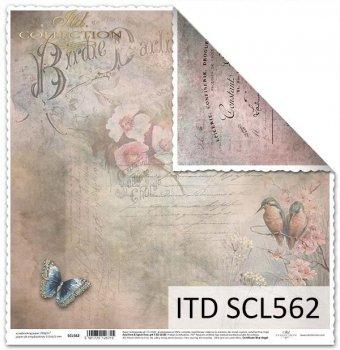 Бумага для скрапбукинга SCL562