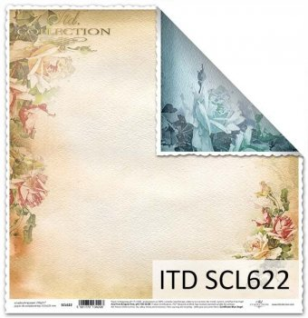 Бумага для скрапбукинга SCL622