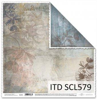 Бумага для скрапбукинга SCL579