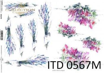 бумага для декупажа классическая D0567M