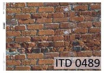 бумага для декупажа классическая D0489M