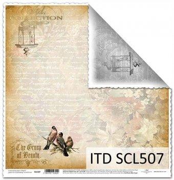 Бумага для скрапбукинга SCL507