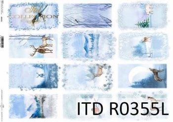 рисовая бумага для декупажа R0355L