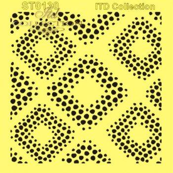 .шаблон для скрапбукинга 16x16 cм ST0130B