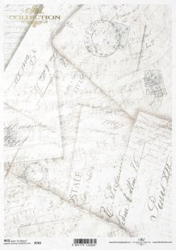 рисовая бумага для декупажа R0743