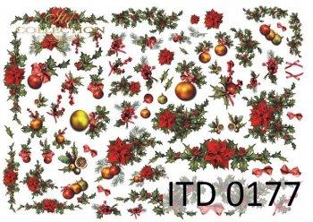бумага для декупажа классическая D0177