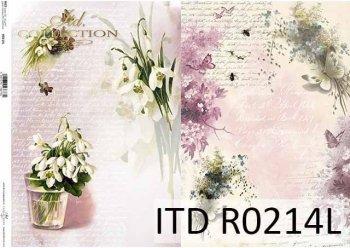 рисовая бумага для декупажа R0214L