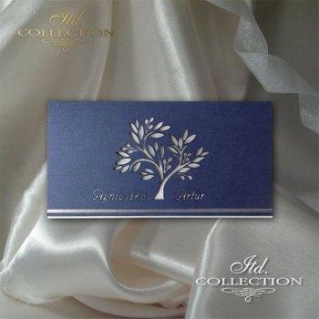 Einladungskarten / Hochzeitskarte 2036