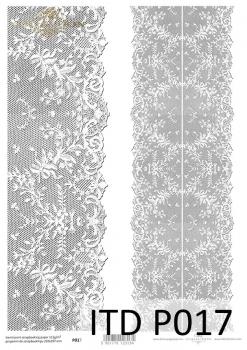 Transparentpapier für Scrapbooking P0017