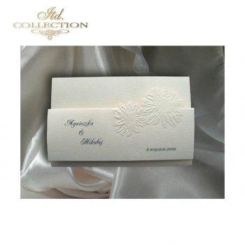 Einladungskarten / Hochzeitskarte 1274
