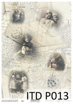 Transparentpapier für Scrapbooking P0013