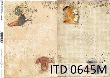 Papier für Serviettentechnik und Decoupage D0645M