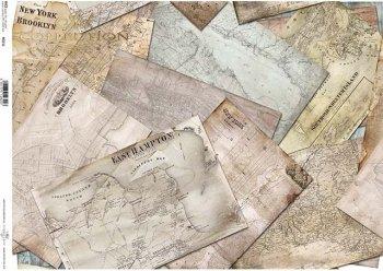 Reispapier A3 für Decoupage R0021L
