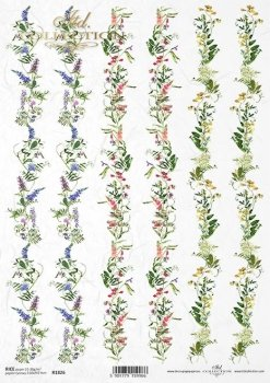Reispapier für Serviettentechnik und Decoupage R1826