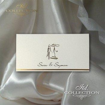 Einladungskarten / Hochzeitskarte 2041