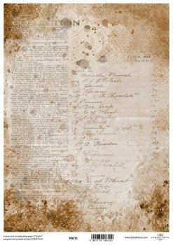 Transparentpapier für Scrapbooking P0111