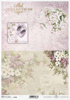 Reispapier für Serviettentechnik und Decoupage R1408