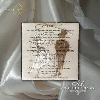 Einladungskarten / Hochzeitskarte 2045