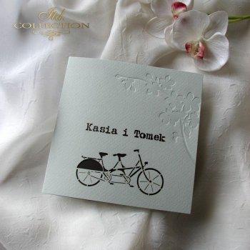 Einladungskarten / Hochzeitskarte 1724_32_braun