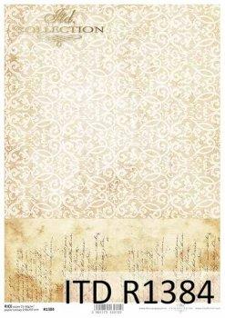 Reispapier für Serviettentechnik und Decoupage R1384