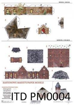 Papierhaus für Scrapbooking PM-0004