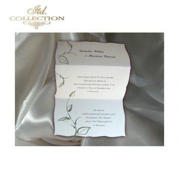 Einladungskarten / Hochzeitskarte 1456