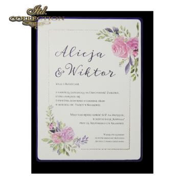 Einladungskarten / Hochzeitskarte 2076