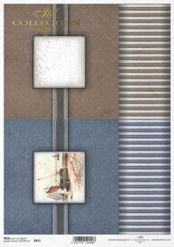 Reispapier für Serviettentechnik und Decoupage R0815
