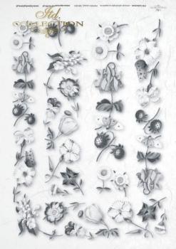 Reispapier für Serviettentechnik und Decoupage R0003