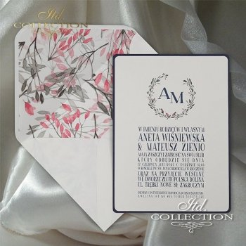 Einladungskarten / Hochzeitskarte 2066