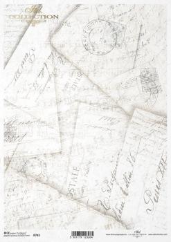 Reispapier für Serviettentechnik und Decoupage R0743