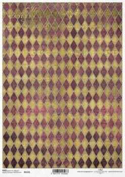 Reispapier für Serviettentechnik und Decoupage R1531