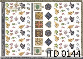 Decoupage paper ITD 0144M