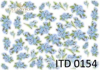 Decoupage paper ITD D0154