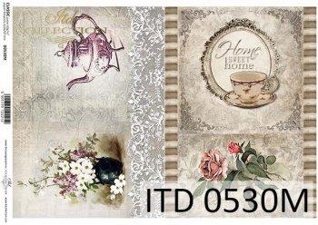 Decoupage paper ITD D0530M