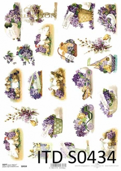 Decoupage paper Soft ITD S0434