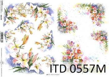 Decoupage paper ITD D0557M